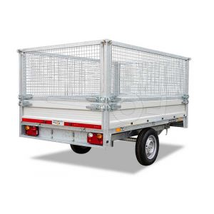 Loofrekken 257x157 (lxb bak) 75cm hoog, voor Twins Trailers plateauwagen of kipper
