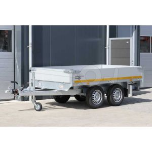 Plateauwagen Eduard afmeting 260x150cm, bruto laadvermogen 2000kg, laadvloerhoogte 72cm