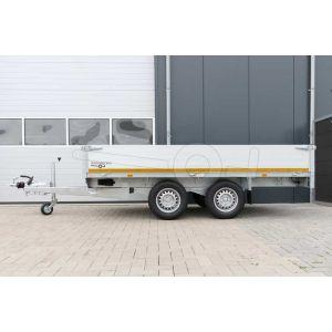 Eduard tandemas plateauwagen 310x160cm laadvloerhoogte 72cm 2500kg