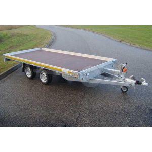 Eduard autotransporter 406x200cm tandemas 2000kg met 10cm borden
