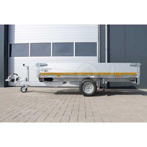 Eduard enkelas multitransporter met 30cm borden 260x150cm 1350kg lvh 56cm