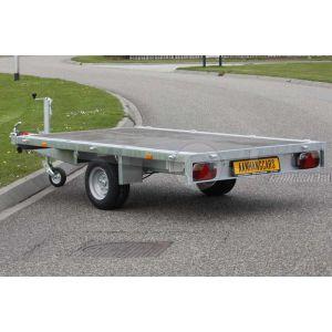Eduard enkelas multitransporter zonder borden 260x150cm 1500kg lvh 56cm