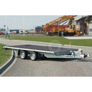 Eduard tandemas multitransporter zonder borden 310x160cm 750kg ongeremd lvh 72cm