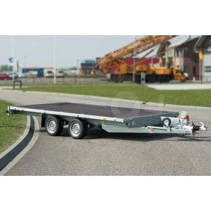 Eduard tandemas multitransporter zonder borden 310x160cm 2000kg lvh 56cm