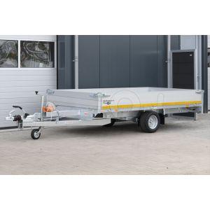 Eduard enkelas multitransporter met 40cm borden 310x180cm 1500kg lvh 56cm