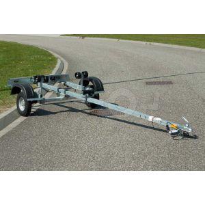 IZI 30 enkelas boottrailer 400x155cm 250kg netto laadvermogen