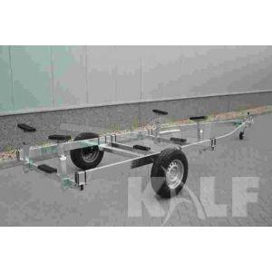 Kalf stallingstrailer Stall 1350 enkelas 600x200 cm 1350 kg