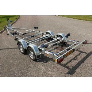 Kalf sloeptrailer Basic 2700-72 720x200 cm 2700 kg