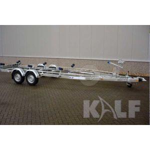 Kalf sloeptrailer Basic 3500-82 820x240cm 2800 kg