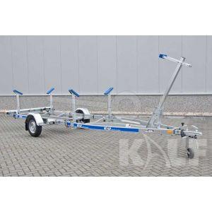 Kalf kielboottrailer R 750-52 V voor een kiel tot een meter 520x190 cm 750 kg
