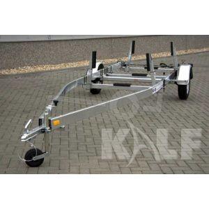 Kalf stallingstrailer Stall 1350 met spatborden 600x200 cm 1350 kg