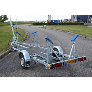 Kalf kielboottrailer Basic 1800-62 enkelas 620x200 cm 1800 kg