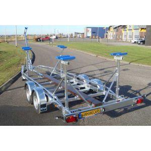 Kalf kielboottrailer Basic 2700-72 720x200 cm 2700 kg