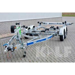 Skiboottrailer M 2500-74 V 740x210 cm 2500 kg
