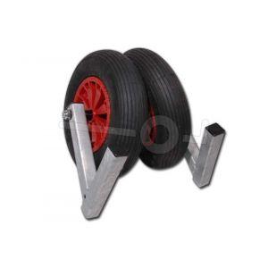 kalf boottrailer optie, boeggeleiding 2wiel vast
