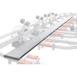 Vijf meter loopplank voor Kalf boottrailer uit de S en Z serie