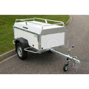 Verhuur bagagewagen, bakafmeting 150x100x50 (lxbxh),, week