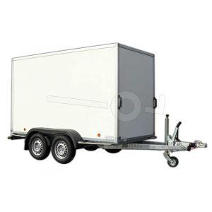optie tot het verbreden verhogen verlengen Powertrailer gesloten aanhangwagen