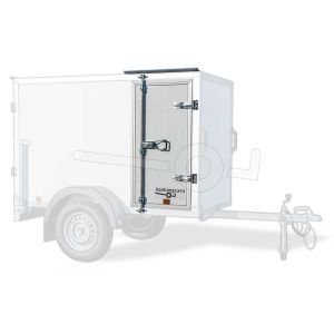 Optionele zijdeur tot 180 cm hoog voor Powertrailer gesloten aanhangwagen