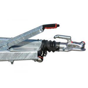 Optie geremde uitvoering voor Powertrailer aanhangwagen 750kg