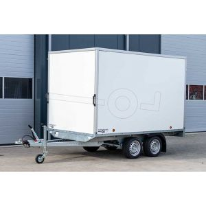 Power Trailer tandemas gesloten plateau aanhangwagen 307x160x1cm 3500kg