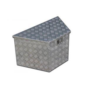 Materiaalkist alu 864x406x482x457, voorzien van slot