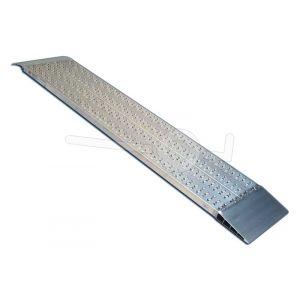 Aluminium oprijplaat Metalmec M040B2/20/2 200x42cm maximum draagvermogen 1259kg