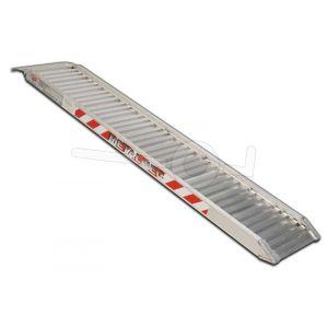 Aluminium oprijplaat Metalmec M100/35L 350x34cm draagvermogen 875kg