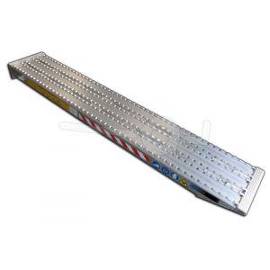 Aluminium oprijplaat Metalmec M105F/390/3500 350x39cm draagvermogen 4573kg