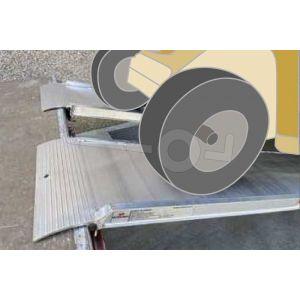 Oprijplaat MPCL065/40 400x50 cm draagvermogen 330 kg