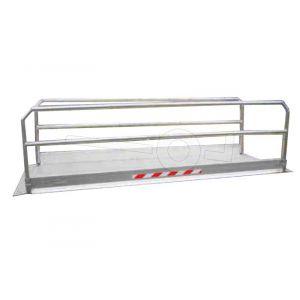 Loopbrug MPP12/10 126x112cm, draagvermogen 400kg, max. overspanning 60cm