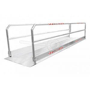 Aluminium rijbrug Metalmec MP12/10 126x112cm