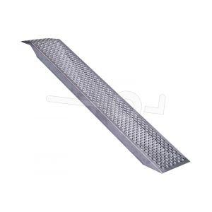 Oprijplaat aluminium 149x26 cm draagvermogen 500 kg
