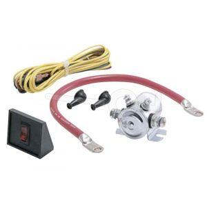 Kabelset voor Warn EVO lier, om de lier voor de stroomvoorziening op het trekkend voertuig aan te sluiten (ongemonteerd)