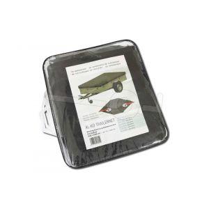 Bagagenet PE (meshnet) voor aanhangwagen, netafmeting 550x250cm fijnmazig