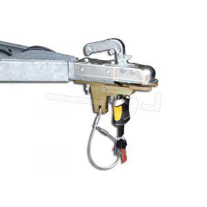 Disselslot DoubleLock Type A60 SCM goedgekeurd, geschikt voor ongeremde trailers,