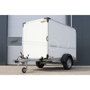 Gesloten aanhangwagen Humbaur enkelas 251x132x152cm 1500kg