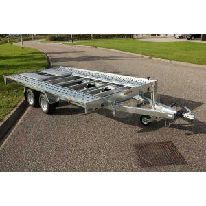 Humbaur FTK kantelbare autotransporter 400x200cm 2000kg
