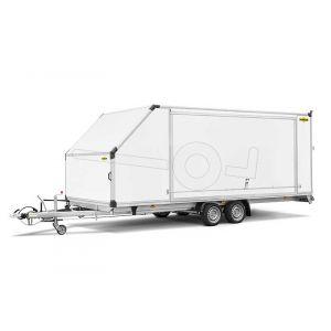 Humbaur MTKB gesloten autoambulance met kantelbare laadvloer