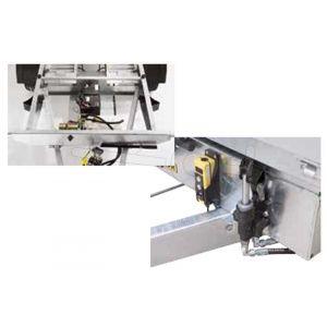Optionele elektrische pomp voor handmatig bediende Humbaur kipper HUK 132314 en 152314