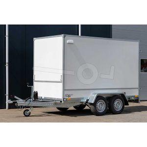 Gesloten aanhangwagen Blyss F2030HTD 305x146x180cm voorzijde