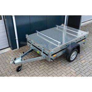 Martz bagagewagen Premium 205 met aluminium deksel