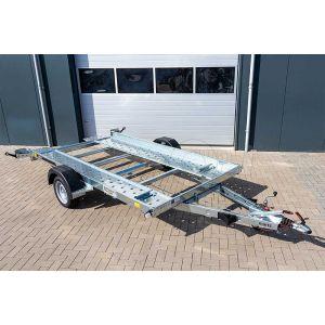 Martz Tieflader 350 1,3T enkelas kantelbare autoambulance met open laadvloer