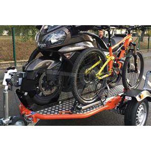 Set fietsendragers voor de Cochet Uno motortrailer