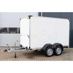 Humbaur tandemas gesloten aanhangwagen 304x151x180cm 2500kg