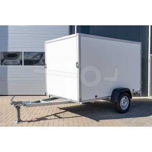 Powertrailer gesloten aanhangwagen met kunststof wanden 200x100x156 cm 750kg ongeremd