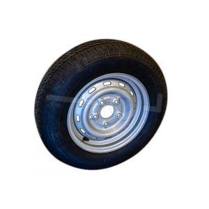Reserve wiel 185 R14 C8 PR voor diverse Humbaur modellen