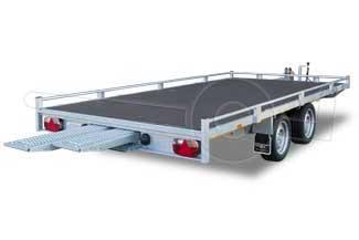 Autoambulance met dichte laadvloer en oprijplaten