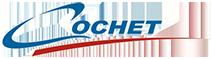 Logo van Cochet, producent van vouw- en zakbare motortrailers