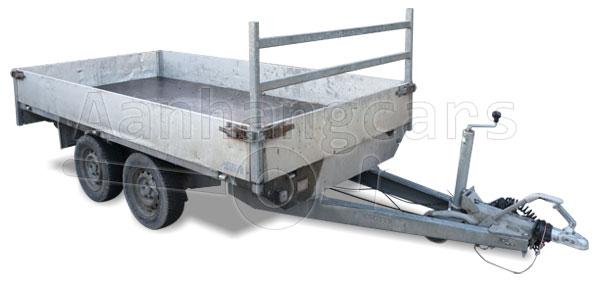 Voorbeeld van een tweedehands gebruikte plateauwagen